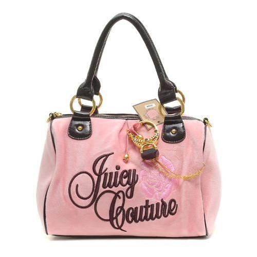 Juicy Couture Ring Bling Madge Handbag Pink