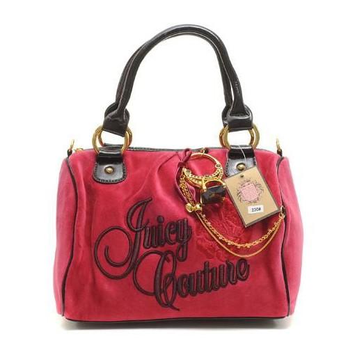 Juicy Couture Ring Bling Madge Handbag Red