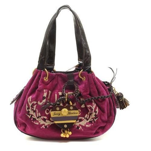 Juicy Couture Tassel Heart Baby Fluffy Handbag Rose