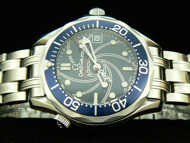 OMEGA SEAmaste r 007 CASINO ROYALE SPIRAL BLUE AUTO SS