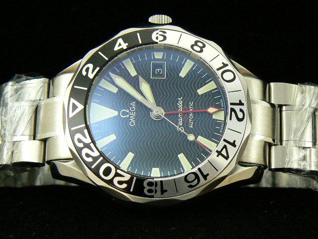 OMEGA SEAmaste r GMT SWISS ETA 2836-2