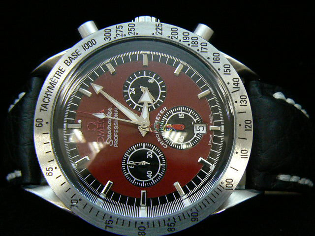 OMEGA SEAmaste r PROFESSIONAL QUARTZ RED