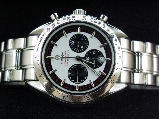 OMEGA SPEEDmaste r MICHAEL SCHUMACHER AUTO BLACK/WHITE