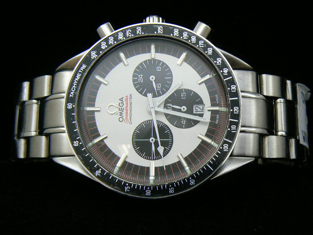 OMEGA SPEEDmaste r QUARTZ WHITE