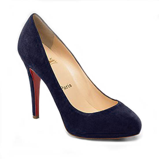 ch ristian Louboutin Pumps Delic Suede Navy