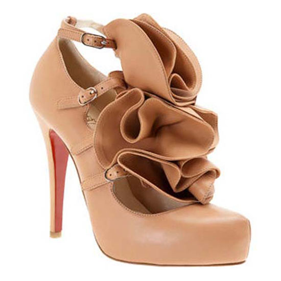 ch ristian Louboutin Pumps Dillian Flower Pink