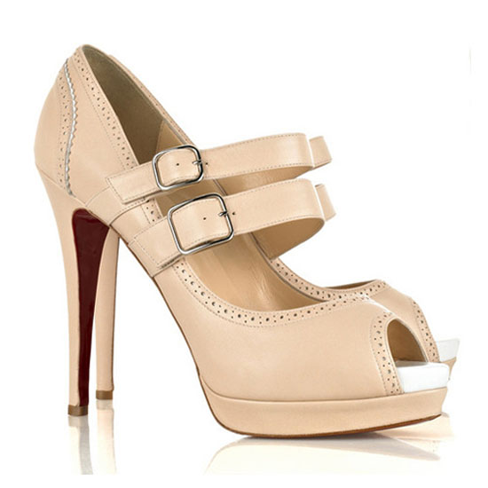 ch ristian Louboutin Pumps Luly Two Strap In Pink