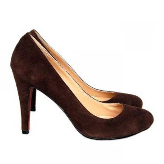 ch ristian Louboutin Pumps Delic Suede Brown