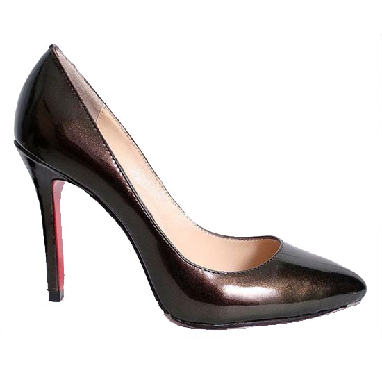 ch ristian Louboutin Pigalle 120 Patent Leather Pumps Co