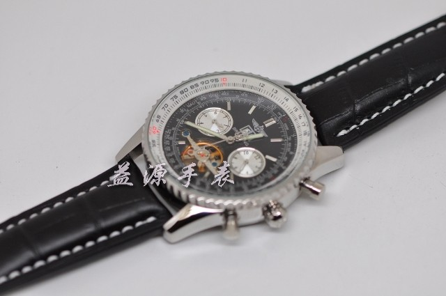 Breitling Watch  00217 Men's All-steel Wristwatches