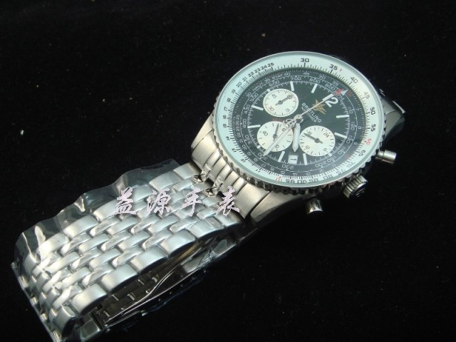 Breitling Watch  00223 Men's All-steel Wristwatches