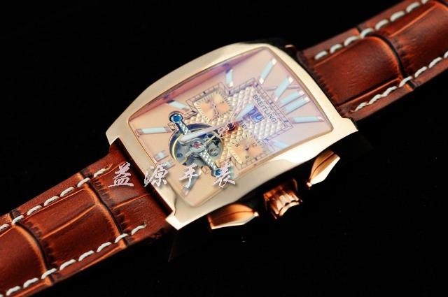 Breitling Watch  00239 Men's All-steel Wristwatches