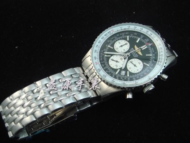 Breitling Watch  00265 Men's All-steel Wristwatches