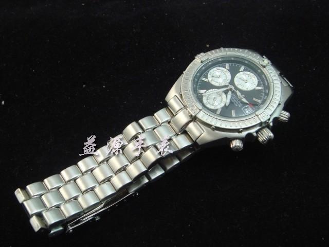 Breitling Watch  00268 Men's All-steel Wristwatches