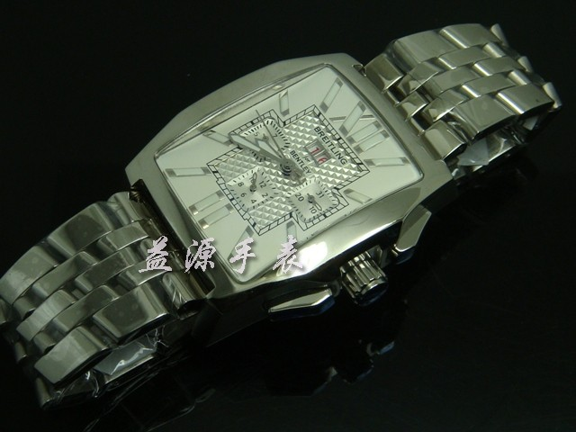 Breitling Watch  00289 Men's All-steel Wristwatches