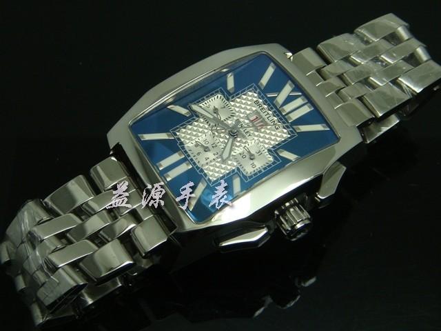 Breitling Watch  00291 Men's All-steel Wristwatches