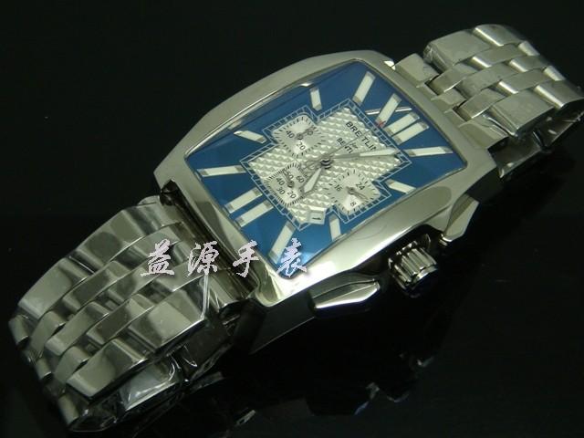 Breitling Watch  00293 Men's All-steel Wristwatches
