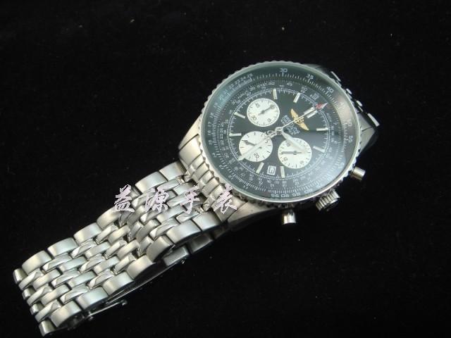 Breitling Watch  00305 Men's All-steel Wristwatches