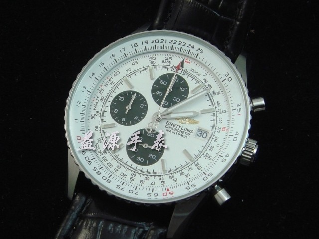 Breitling Watch  00312 Men's All-steel Wristwatches
