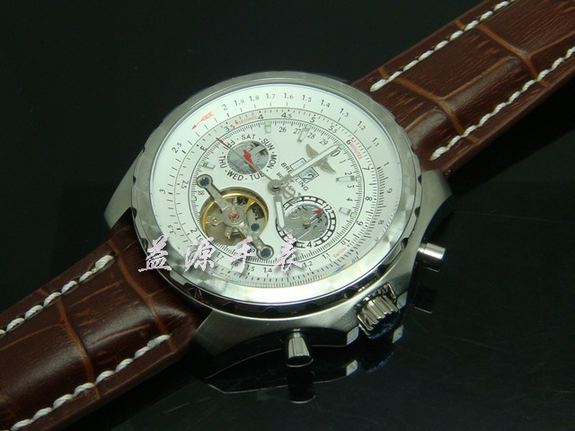 Breitling Watch  00316 Men's All-steel Wristwatches