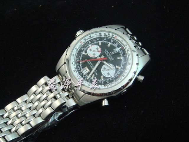 Breitling Watch  00319 Men's All-steel Wristwatches