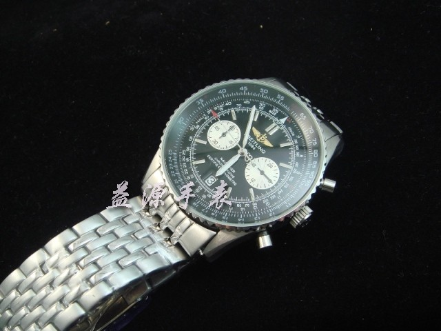 Breitling Watch  00320 Men's All-steel Wristwatches
