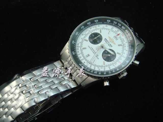 Breitling Watch  00340 Men's All-steel Wristwatches