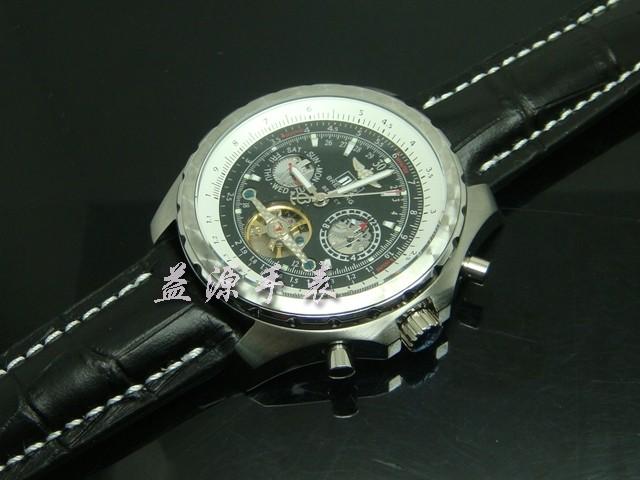 Breitling Watch  00345 Men's All-steel Wristwatches