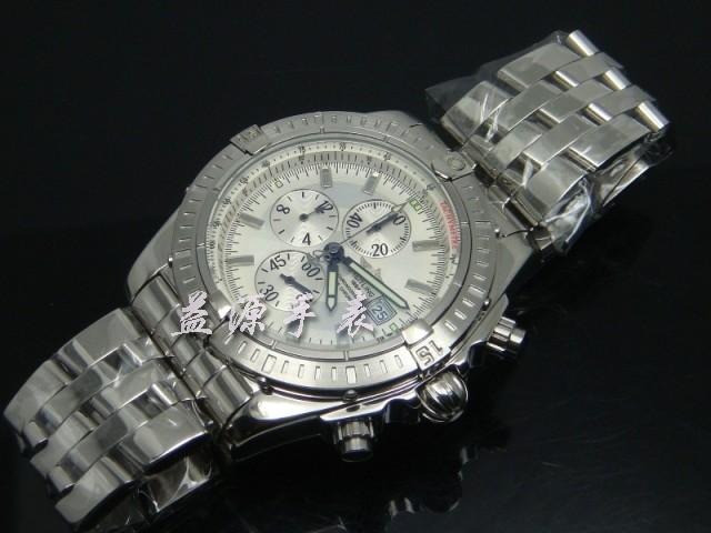Breitling Watch  00350 Men's All-steel Wristwatches