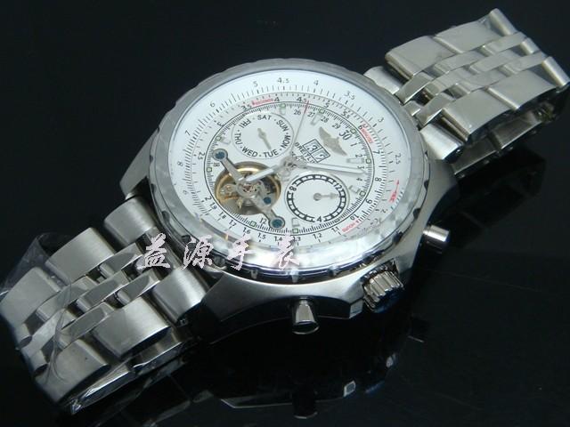 Breitling Watch  00364 Men's All-steel Wristwatches