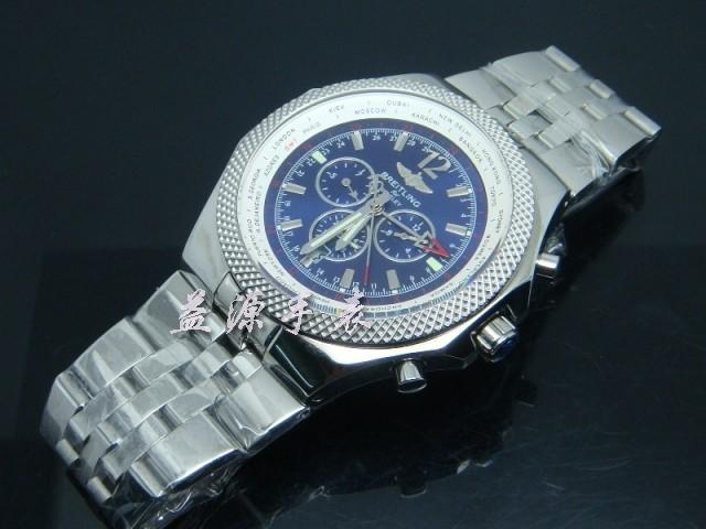 Breitling Watch  00375 Men's All-steel Wristwatches