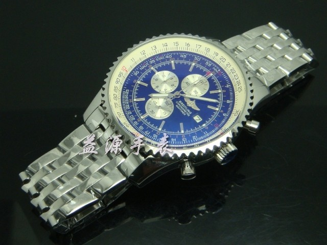 Breitling Watch  00377 Men's All-steel Wristwatches