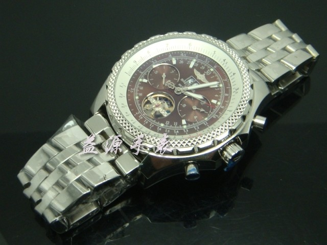 Breitling Watch  00380 Men's All-steel Wristwatches