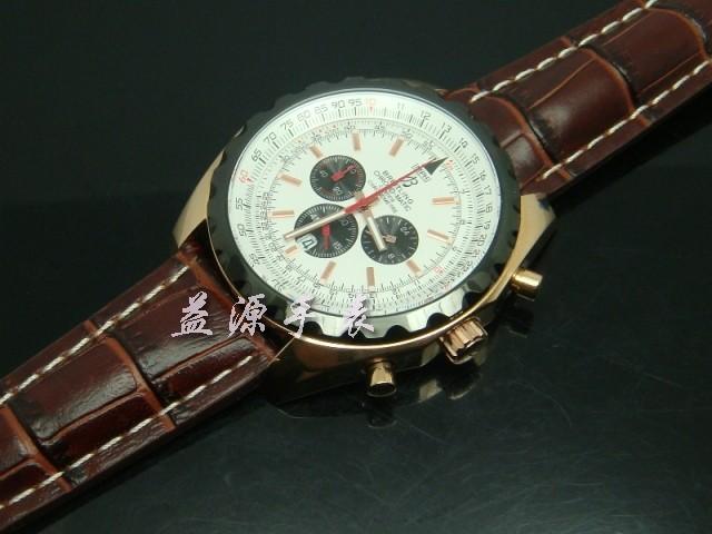 Breitling Watch  00387 Men's All-steel Wristwatches