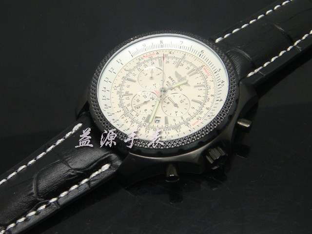 Breitling Watch  00393 Men's All-steel Wristwatches