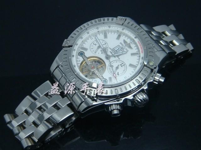 Breitling Watch  00400 Men's All-steel Wristwatches