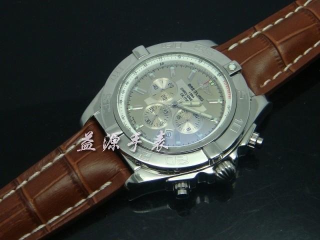 Breitling Watch  00401 Men's All-steel Wristwatches