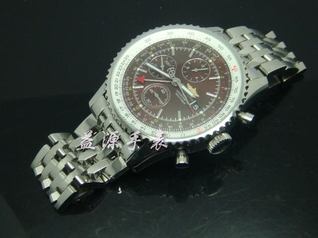 Breitling Watch  00402 Men's All-steel Wristwatches