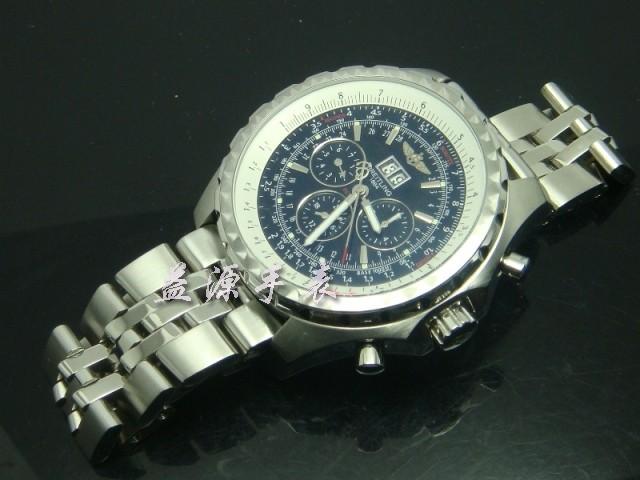 Breitling Watch  00407 Men's All-steel Wristwatches