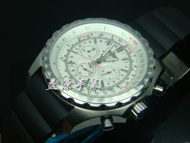 Breitling Watch  00410 Men's All-steel Wristwatches