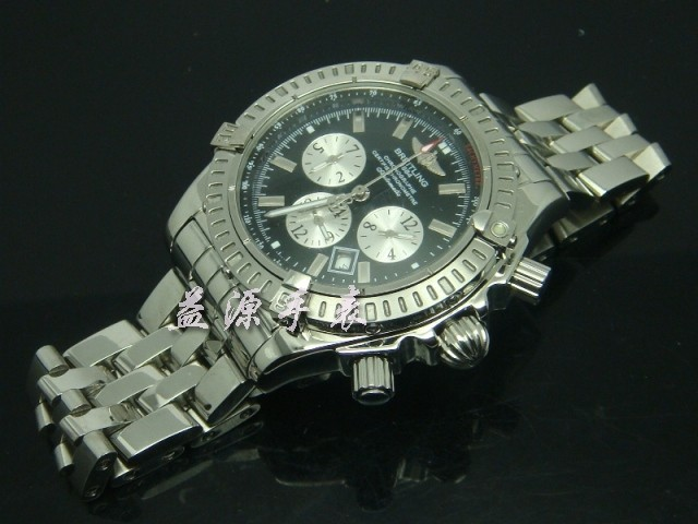 Breitling Watch  00415 Men's All-steel Wristwatches
