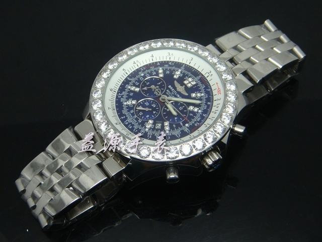 Breitling Watch  00419 Men's All-steel Wristwatches