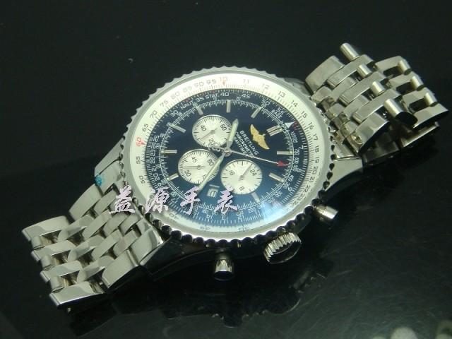 Breitling Watch  00423 Men's All-steel Wristwatches