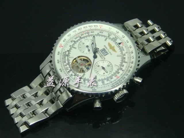 Breitling Watch  00427 Men's All-steel Wristwatches