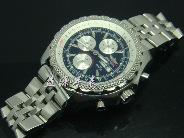 Breitling Watch  00429 Men's All-steel Wristwatches