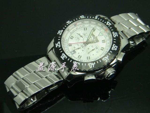 Breitling Watch  00434 Men's All-steel Wristwatches