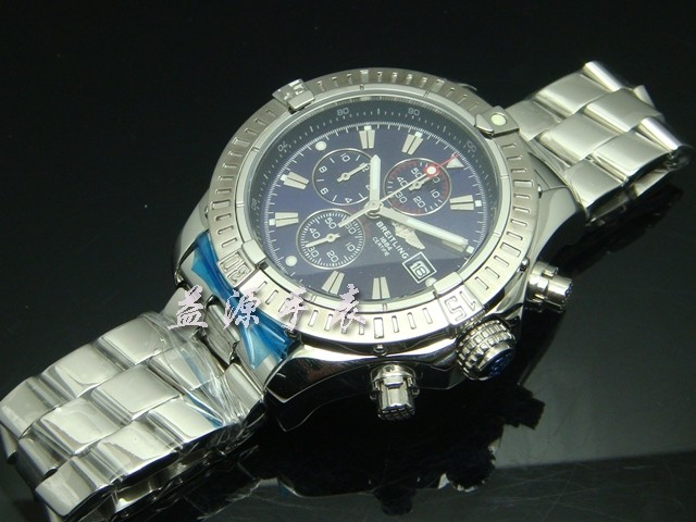 Breitling Watch  00442 Men's All-steel Wristwatches