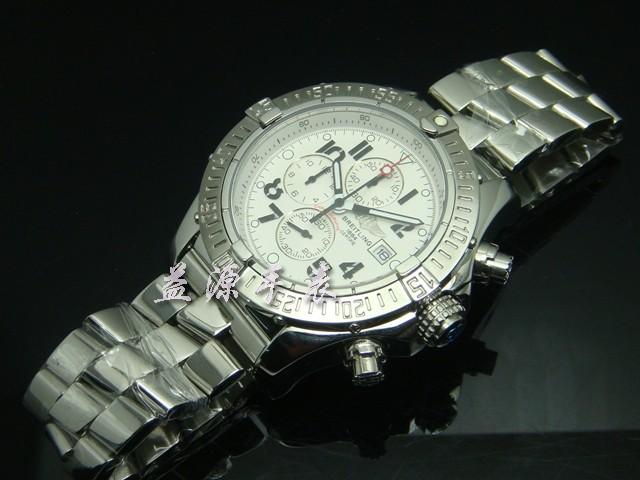 Breitling Watch  00443 Men's All-steel Wristwatches