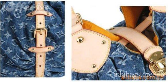 LV Monogram Denim handbag shoulder bag M95510
