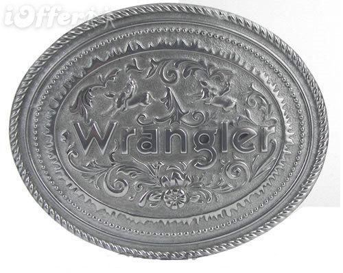 Wrangler Belt Buckle includes Belt *NEW*